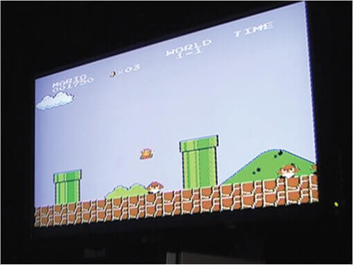 Big Upgrades The BIG Party Bigscreen Super Mario