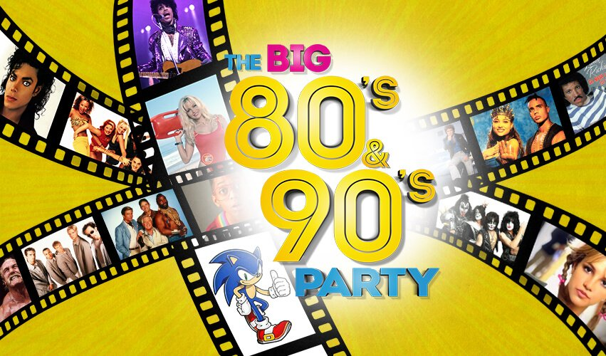 The BIG Party, The BIG 80's & 90's Party Concept afbeelding