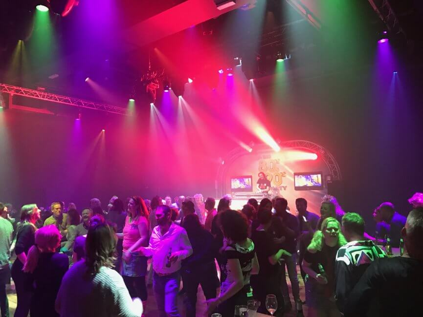 The BIG 80's & 90's Party Schouwburg Odeon Zwolle 11 maart 2017 Zwolse Theaters