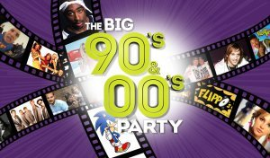 The BIG 90's & 00's Party drive-in show