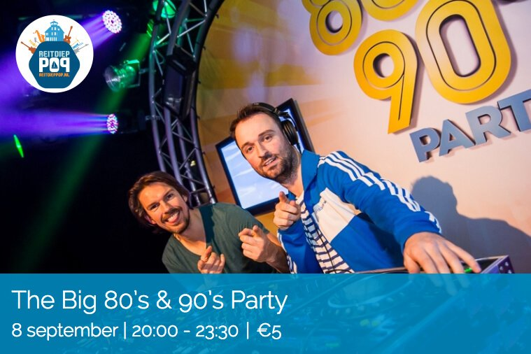 ReitdiepPop 2018 Groningen The BIG 80's & 90's Party